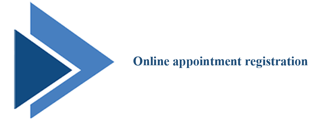 online appointment registeration